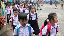 Nhộn nhịp tựu trường năm học mới 2017 - 2018