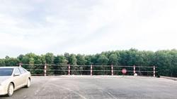 Đường liên cảng Cái Mép - Thị Vải thi công chậm tiến độ và mới được kết nối tới chân công trình Cảng CMH. Ảnh: Minh Tuấn