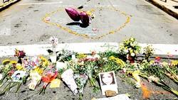 Khu vực tưởng niệm các nạn nhân thiệt mạng trong vụ bạo động ở Charlottesville