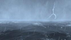 Mưa dông mạnh trên các vùng biển phía Nam, Nam bộ triều cường cao, nguy cơ ngập lụt