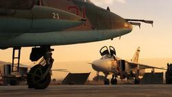 Máy bay Nga tại căn cứ Hmeimim ở Syria. Ảnh: Sputnik