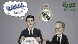 Bầu trời cho Morata