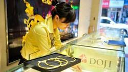 Giá vàng SJC đứng ở mức cao