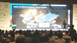 Quang cảnh Hội nghị Xuất khẩu dịch vụ công nghệ thông tin 2017.