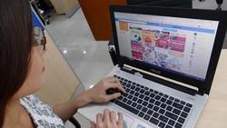 Hàng mỹ phẩm, thực phẩm chức năng bán khá phổ biến trên Facebook