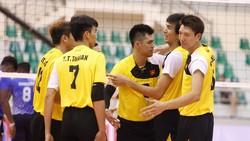 Đội tuyển bóng chuyền nam sẽ đấu trận ra quân gặp Hàn Quốc.         Ảnh: Thiên Hoàng