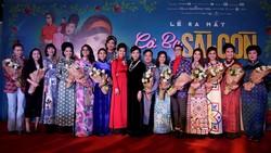 """Ekip """"Cô ba Sài Gòn"""" trong ngày công chiếu tại TPHCM"""