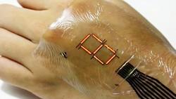 E-skin có thể tạo ra các thiết bị dán vào cơ thể để theo dõi sức khỏe