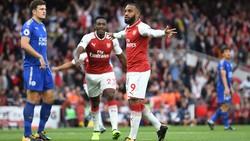 Tân binh Lacazette có lẽ là điểm sáng hiếm hoi của Arsenal ở ngày khai màn.