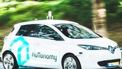 Thử nghiệm taxi tự lái ở Singapore
