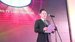 Ông Nguyễn Vinh Huy, Chủ tịch HĐQT Hệ thống Thịnh Trí phát biểu.