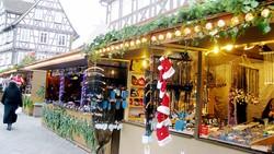 Đi chợ Giáng sinh ở Đức