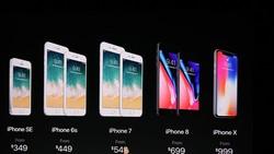 iPhone 8、iPhone X 售價消息已出爐。(圖源:互聯網)
