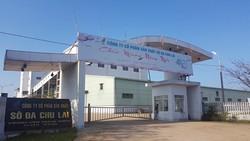 Nhà máy Sô đa Chu Lai ngừng hoạt động hơn 1 năm qua