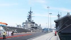 Tàu quân sự nước ngoài tham gia Chương trình đối tác Thái Bình Dương 2017
