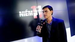 Phan Văn Tài Em tại buổi giới thiệu dự án phim về bóng đá