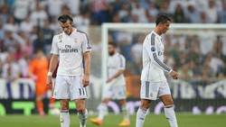 Ronaldo (phải) muốn Bale dự bị. Ảnh: Getty Images