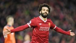 Mohamed Salah đang gây sốt khi dẫn đầu cuộc đua vua phá lưới Premier League. Ảnh: Getty Images