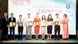 Lễ vinh danh và trao giải Đại hội thể thao của doanh nhân Olympic 2030 lần 3 - 2017