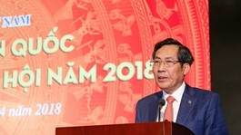 President of the Vietnam Journalists Association Thuan Huu (Source: VNA)