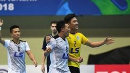 Thai Son Nam wins second place at AFC Futsal Club Championship. (Photo: AFC)