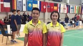 Tuấn Đức/Như Thảo đem về ngôi vô địch cho cầu lông Việt Nam.