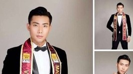 The Man of the World's official fan page has released the photos of model Huu Long