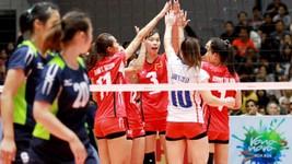 Các cô gái U23 Việt Nam xuất sắc giành tấm HCĐ châu Á. Ảnh: Thiên Hoàng