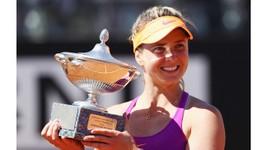 Elina Svitolina đăng quang Italian Open ở tuổi 22.