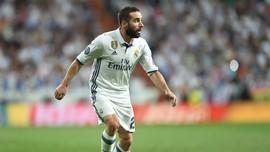 Carvajal là hậu vệ phải duy nhất còn lại của Real.