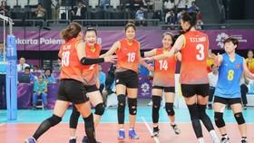 Sau Asiad 2018, bóng chuyền nữ lại chuẩn bị dự giải châu Á ở Thái Lan. Ảnh: DŨNG PHƯƠNG