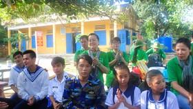 Đoàn công tác TPHCM kết thúc chuyến thăm cán bộ, chiến sĩ và nhân dân các đảo Tây Nam