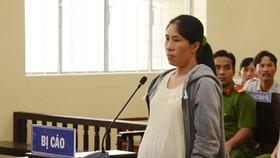 Bị cáo Nguyễn Thị Hằng Ni tại tòa