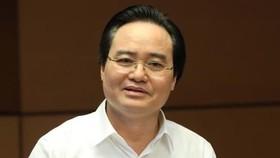 Bộ trưởng Bộ GD-ĐT khẳng định thí sinh có điểm thi cao do gian lận mà đỗ đại học thì kể cả khi nhập học vẫn bị xử lý  theo quy chế