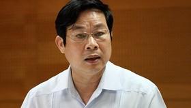 Xóa tư cách nguyên Bộ trưởng đối với ông Nguyễn Bắc Son