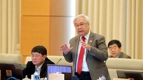 Chủ nhiệm Ủy ban Văn hóa, Giáo dục, Thanh niên, Thiếu niên và Nhi đồng của Quốc hội Phan Thanh Bình. Ảnh: TTXVN