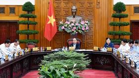 Thủ tướng chủ trì họp về tình hình sạt lở bờ biển và bồi lấp cửa sông các tỉnh ven biển miền Trung