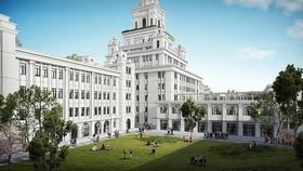 Xem phối cảnh Đại học VinUni rộng 23ha, 10 tầng với tháp cao 108m