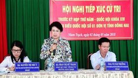 Ban Bí thư Trung ương Đảng sẽ tiếp tục xem xét kỷ luật bà Phan Thị Mỹ Thanh về mặt chính quyền