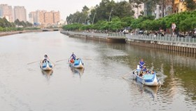 Boat trips in Ho Chi Minh City (Photo: SGGP)