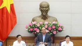 PM Nguyen Xuan Phuc ( middle) ( Source: VNA)