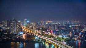 A corner of the southern economic hub of Ho Chi Minh City (Photo H.Huynh)