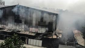 VIDEO: No one dies in blaze in Hanoi market
