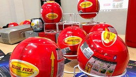 New convenient firefighting balls introduced