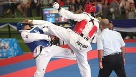 Vietnamese earn four golds at int'l taekwondo champs
