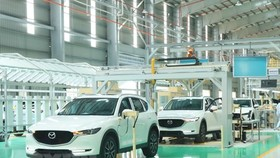 The Thaco Mazda factory of Truong Hai Automobile Co. Ltd (Photo: VNA)