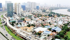 Work on Ben Thanh- Suoi Tien metro (Photo: SGGP)