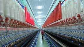 A factory of the Lam Giang Yarn Company (Photo: VNA)