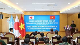During the program that runs during August 20-24, Vietnamese and Japanese peacekeeping sappers will brief each other on their operations. (Source: VNA)