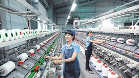 The textile industry is going to import material at the end of the year. Photo by Cao Thang